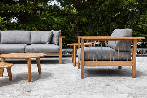 MARO OUTDOOR SOFA AND LOUNGE CHAIR