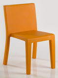 ORANGE JUT DINING CHAIR