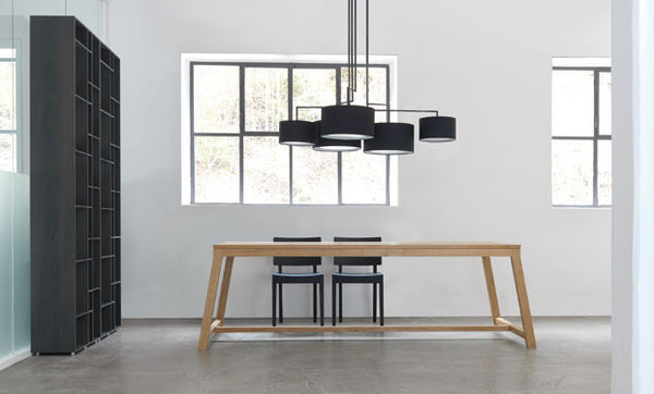 BLACK NOON 5 CEILING LAMP