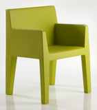 PISTACHIO COLOR SAMPLE ON JUT DINNING ARMCHAIR