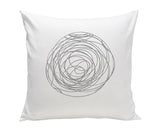 SPUN ORGANIC PILLOW
