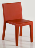 RED JUT DINING CHAIR