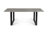 ALPS MODERN CONCRETE & METAL DINING TABLE