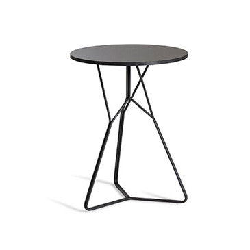 SERAC BLACK METAL END TABLE