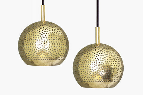 SHAMS BRASS PENDANT