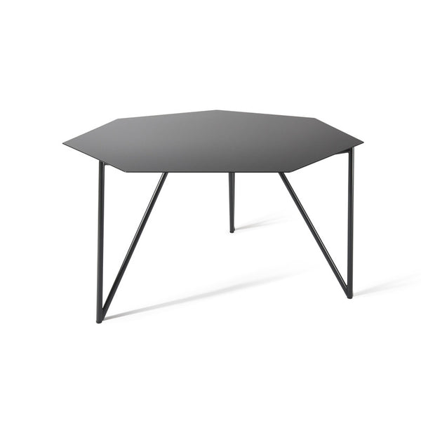 ATIPICO TERRA METAL COFFEE TABLE IN BLACK GREY