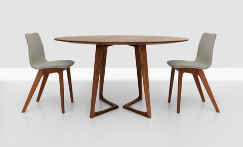 TWIST ROUND DINING TABLE