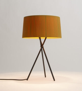 MUSTARD TRIPODE TABLE LAMP
