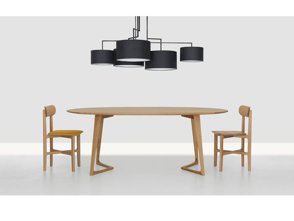 TWIST OVAL DINING TABLE