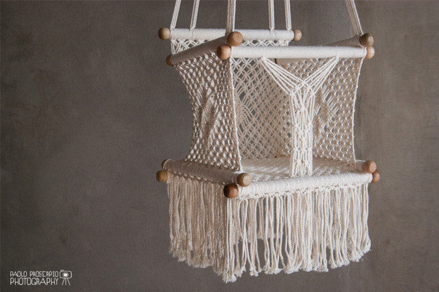 BABY SWING CHAIR - IVORY