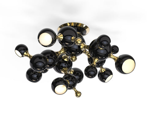 ATOMIC CEILING - BLACK & GOLD