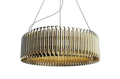 MATHENY ROUND CHANDELIER - 1 TIER