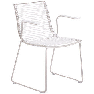 PAN ARMCHAIR - WHITE