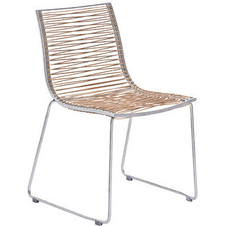 PAN DINING CHAIR-BROWN