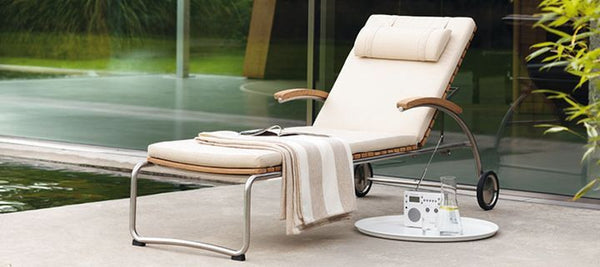 BOLERO OUTDOOR TEAK LOUNGER
