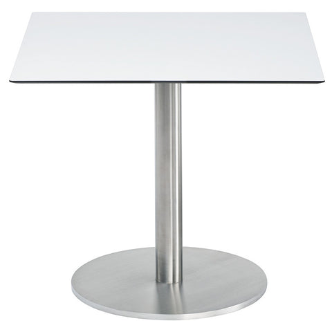 RONDA SQUARE PEDESTAL DINING TABLE