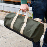 WORK HARD DUFFEL - ARMY GREEN