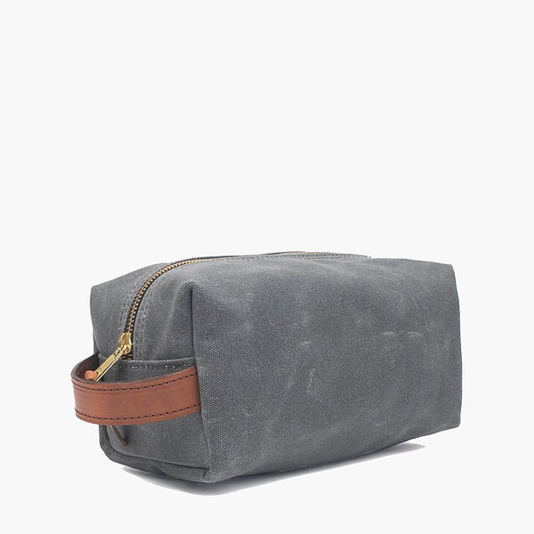 JET SHAVING KIT BAG - CHARCOAL