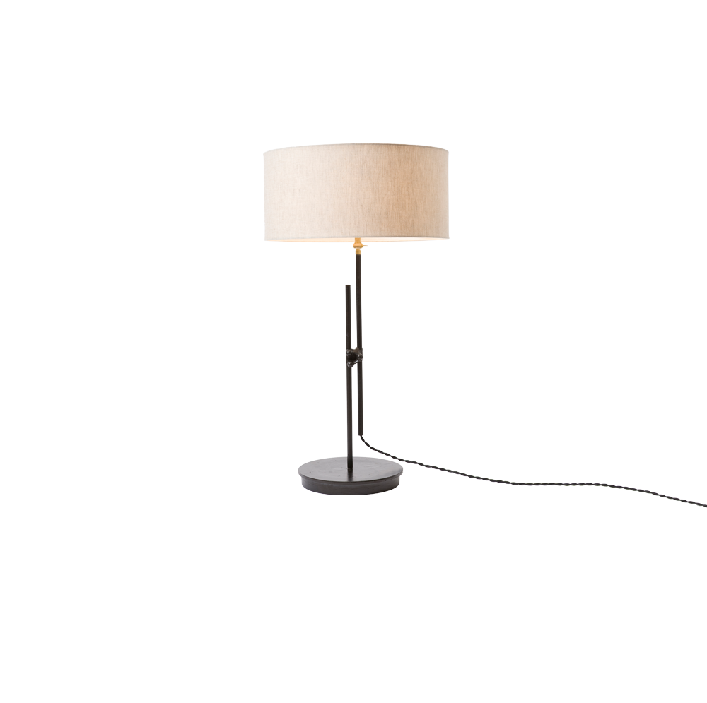 SHADED TABLE LAMP