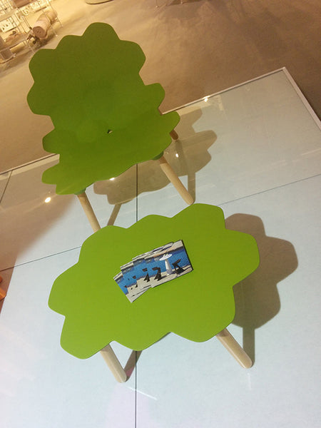 GREEN TARTA TABLE & CHAIR
