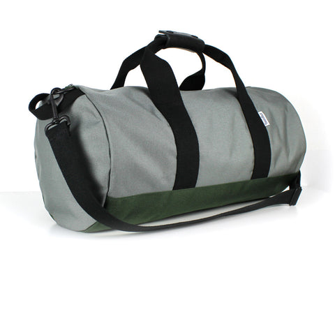 WORK HARD DUFFEL - SILVER