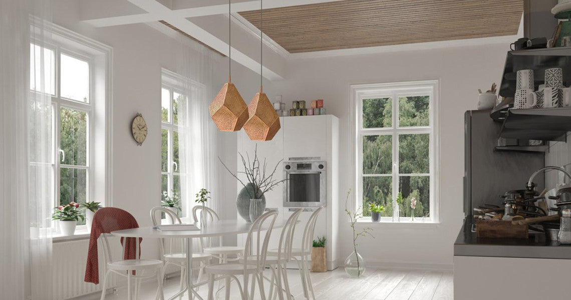 MODERN MOROCCAN PENDANT LIGHTS IN COPPER