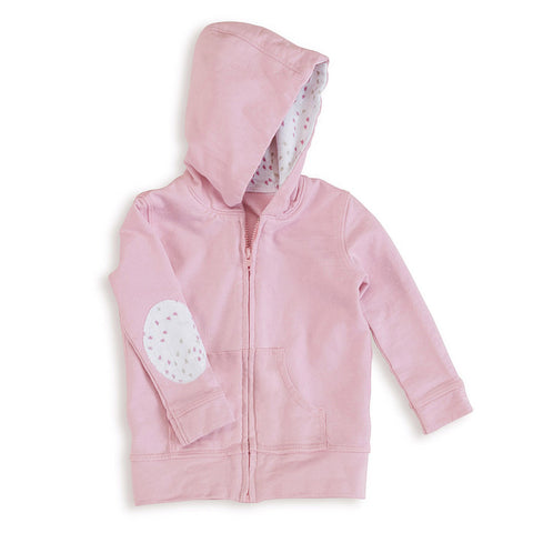 aden + anais Lovely Pink Hoodie