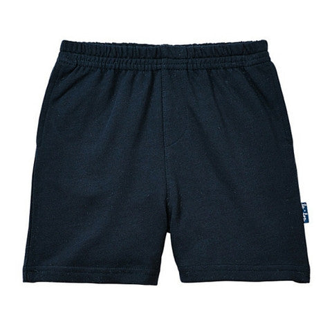 Le Top Boy Navy French Terry Short