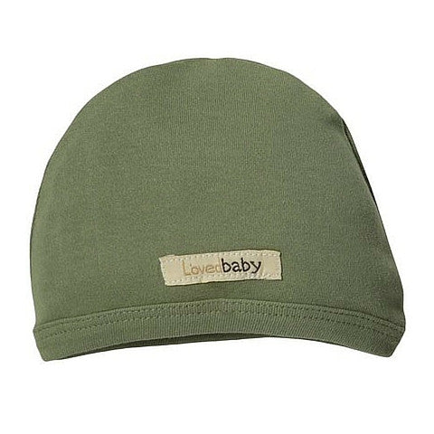 L'ovedbaby Sage Organic Cotton Cute Cap for baby boy or girl