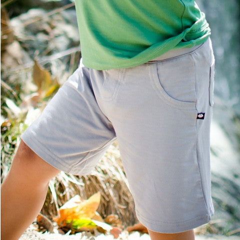 Sweet Bamboo Grey Boy Shorts