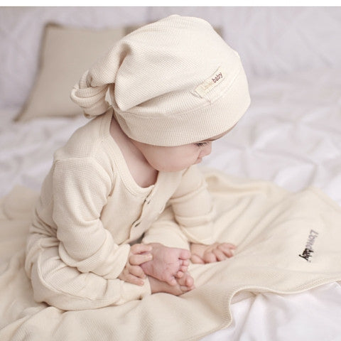 L'ovedbaby Knotted Thermal Organic Cotton Cap