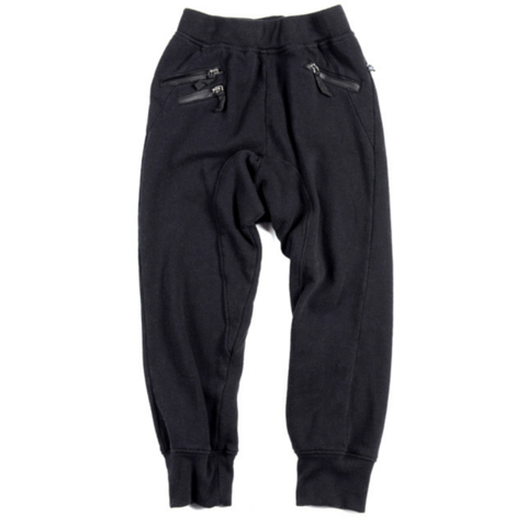 Black Parker Sweat Pants