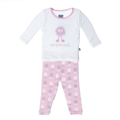 Lotus Alien Long Sleeve Pajama Set