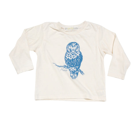 Blue Owl Long Sleeve Tee