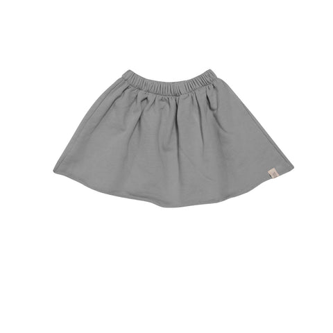 Silver Organic Fleece Skirt