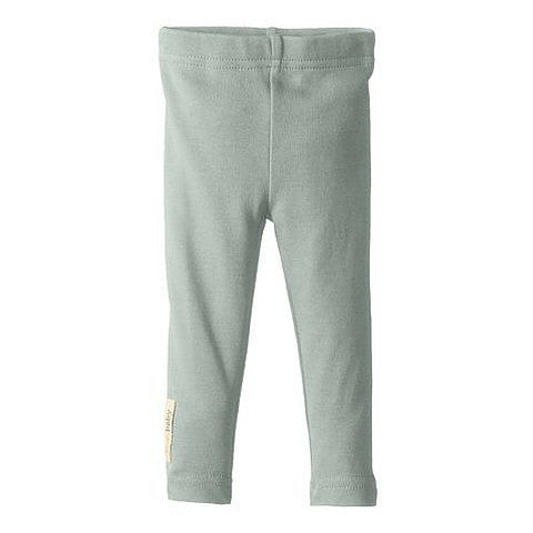 L'ovedbaby Seafoam Organic Cotton Leggings for baby girl or boy
