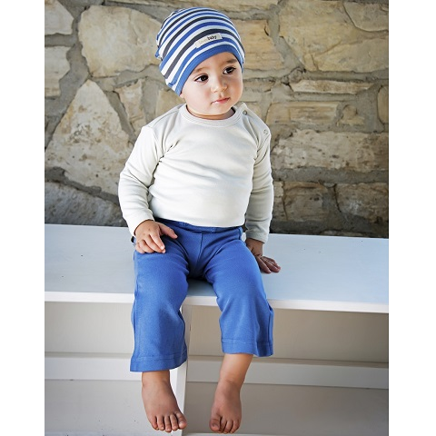 Stone Organic Long Sleeve Bodysuit