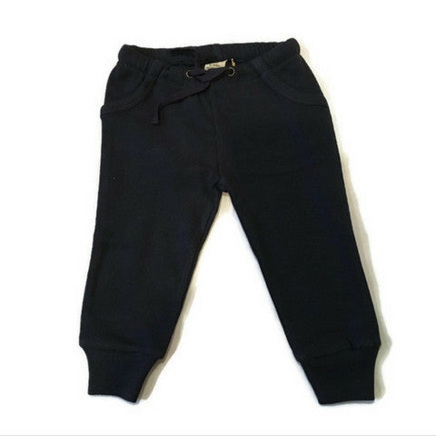 L'ovedbaby Navy Organic Cotton Thermal Pants