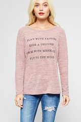 Play With Fairies Graphic Tee