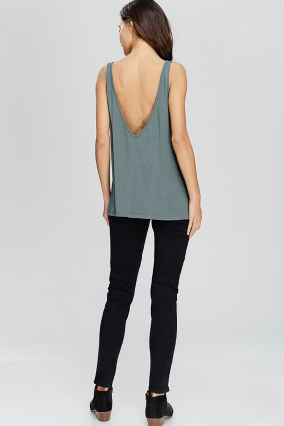Deep Back Tank Top