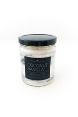 Coconut Vanilla Marbled Jar Candle
