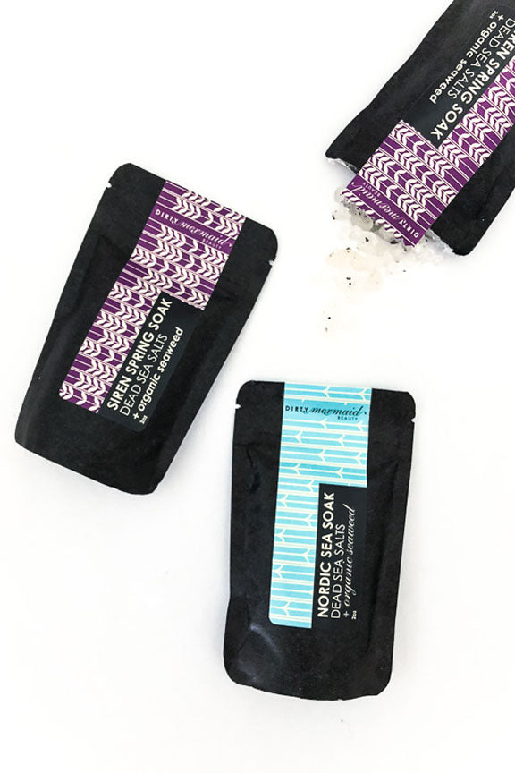 Travel Size Seasonal Bath Soaks