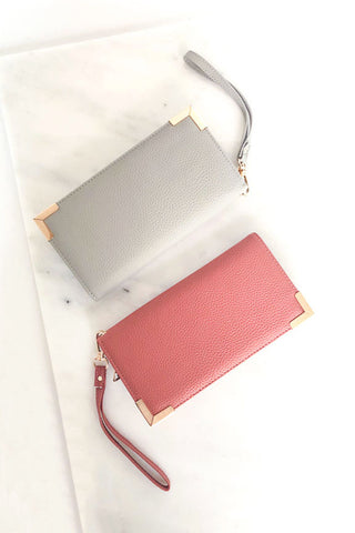 Zip Around Wallet Clutch