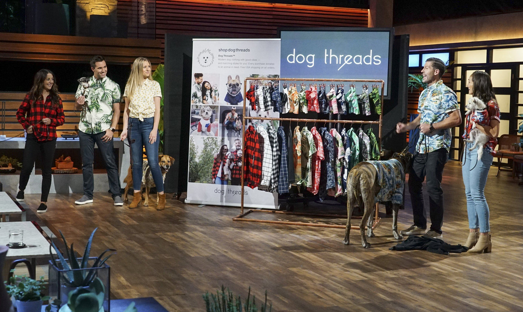 Dog Threads Pitch on Shark Tank — Sneak Peek
