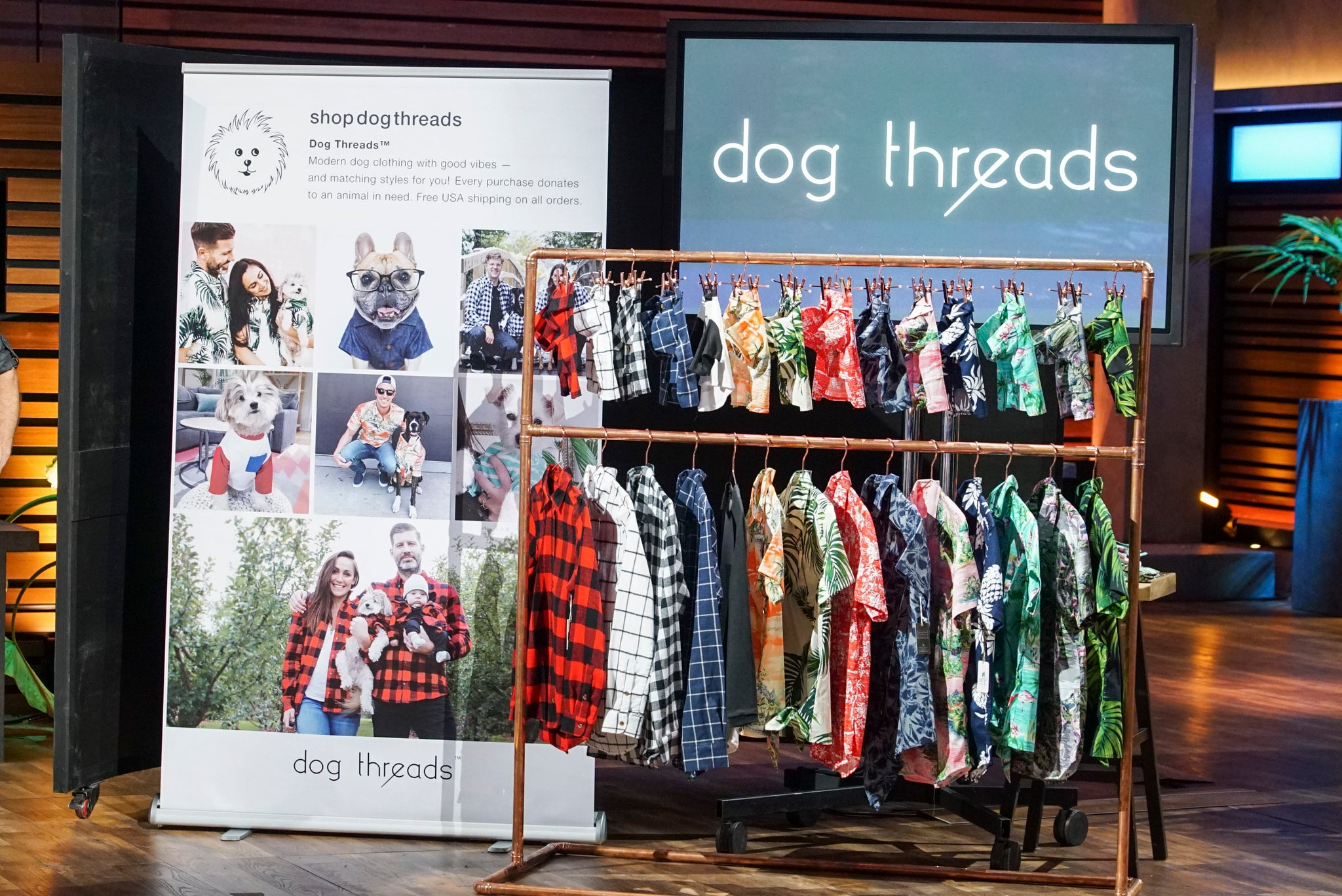 ABC Shark Tank | Matching Dog and People Clothing Company Dog Threads