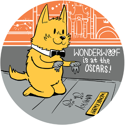 WONDERWOOF AT THE OSCARS!