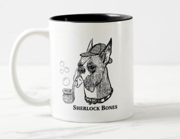 WonderWoof Boxer mug front view