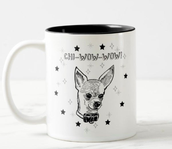 WonderWoof Chihuahua mug front view