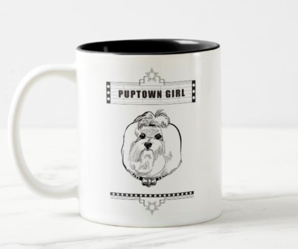 WonderWoof Maltese mug front view