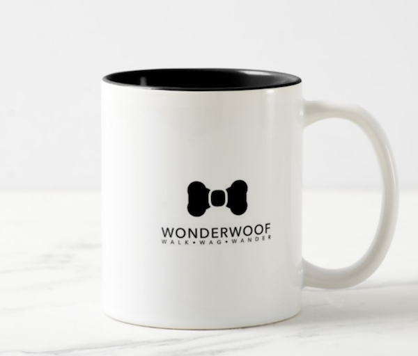 WonderWoof mug back view